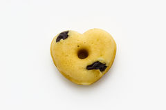 Donut shaped heart Royalty Free Stock Images