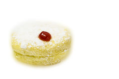 Donut with sherry Stock Image