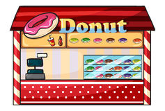 A donut shop Royalty Free Stock Image