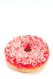 Donut with sprinkles Royalty Free Stock Images