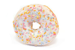 Donut with sprinkles Royalty Free Stock Photos