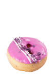 Donut with sprinkles Stock Photos