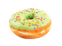 Donut with sprinkles Stock Photos
