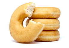 Donut Stack Royalty Free Stock Photography