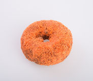 Donut or Sugared Apple Cider Donuts on a background. Donut or Sugared Apple Cider Donuts on a background royalty free stock photo