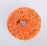 Donut or Sugared Apple Cider Donuts on a background. Donut or Sugared Apple Cider Donuts on a background royalty free stock image
