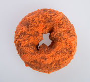 Donut or Sugared Apple Cider Donuts on a background. Donut or Sugared Apple Cider Donuts on a background stock images