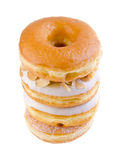 Donut, sweet donut with sugar Stock Photos