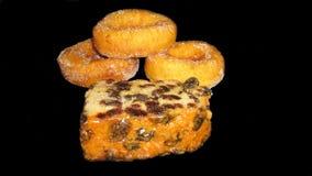 Donut und Kuchen Lizenzfreies Stockbild