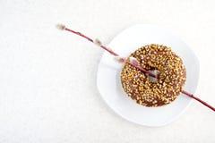 Donut- und Weidenniederlassungen Stockfoto