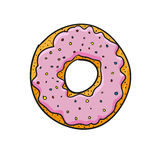 Donut. vector illustration Stock Images