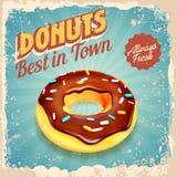 Donut vintage Stock Photography