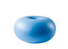 Donut yoga ball Royalty Free Stock Images