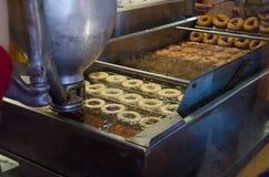 Donutmaschine Stockfoto
