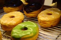 Donuts για την επιχείρηση αρτοποιείων σας Στοκ εικόνα με δικαίωμα ελεύθερης χρήσης