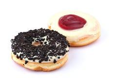 donuts δύο Στοκ Εικόνες