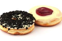 donuts δύο Στοκ φωτογραφία με δικαίωμα ελεύθερης χρήσης
