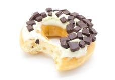 Donuts στο άσπρο υπόβαθρο Στοκ Φωτογραφία