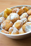 donuts φρέσκια ζάχαρη Στοκ Φωτογραφίες