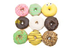 donuts в поливе Стоковое Изображение RF