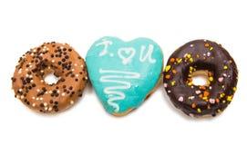 donuts в поливе Стоковая Фотография