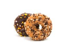donuts в поливе Стоковые Фотографии RF
