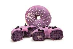 donuts в поливе Стоковые Изображения