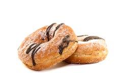Donuts в шоколаде Стоковая Фотография RF