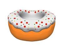donuts донута иллюстрации 3d изолированные на белизне иллюстрация вектора