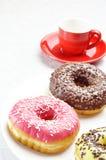 donuts завтрака Стоковое Изображение RF