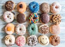 Donuts застекленные помадкой Стоковая Фотография
