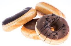 Donuts изолированные на белизне Стоковые Фото