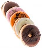 Donuts изолированные на белизне Стоковая Фотография RF