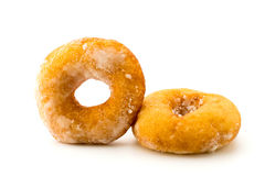 donuts изолировали белизну Стоковое Фото
