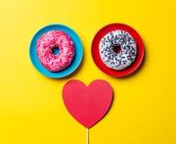 Donuts и игрушка Стоковые Изображения RF