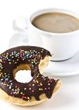 Donuts и кофейная чашка Стоковое Изображение RF