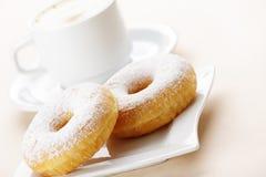 donuts кофе Стоковое Фото
