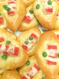 Donuts краба Texter Стоковая Фотография RF
