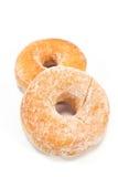 2 donuts напудренного с сахаром Стоковое Изображение RF