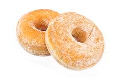 2 donuts напудренного с сахаром Стоковые Фотографии RF