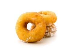 Donuts на белизне Стоковое Фото