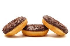 Donuts на белой предпосылке Стоковые Изображения RF