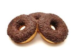 Donuts на белой предпосылке Стоковое Изображение RF