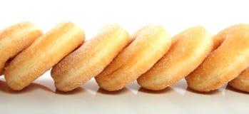 donuts несколько засахаренных вкусных Стоковое фото RF
