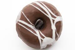Donuts от изолированного шоколада Стоковое Изображение RF