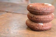 3 donuts пирожного Стоковое Изображение RF