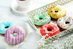Donuts с брызгают Стоковая Фотография