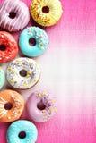 Donuts с брызгают Стоковые Фото