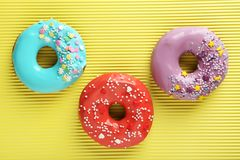 Donuts с брызгают Стоковое фото RF