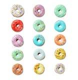 Donuts с брызгают Стоковые Изображения